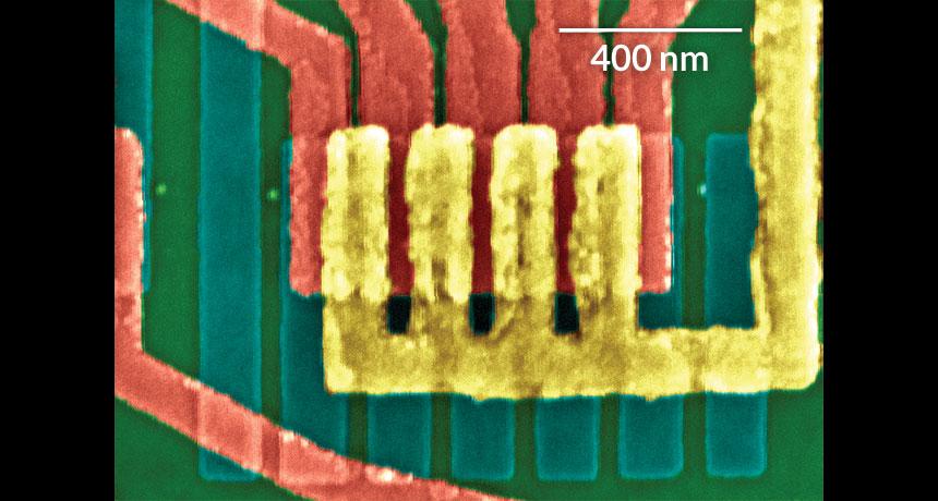 tiny transistor