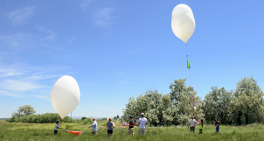 balloon practice