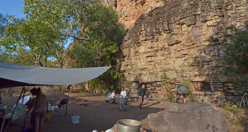 Madjedbebe rock shelter