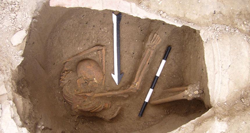 Canaanite skeleton