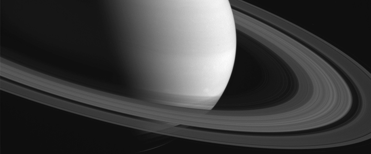 Saturn, as photographed about Cassini