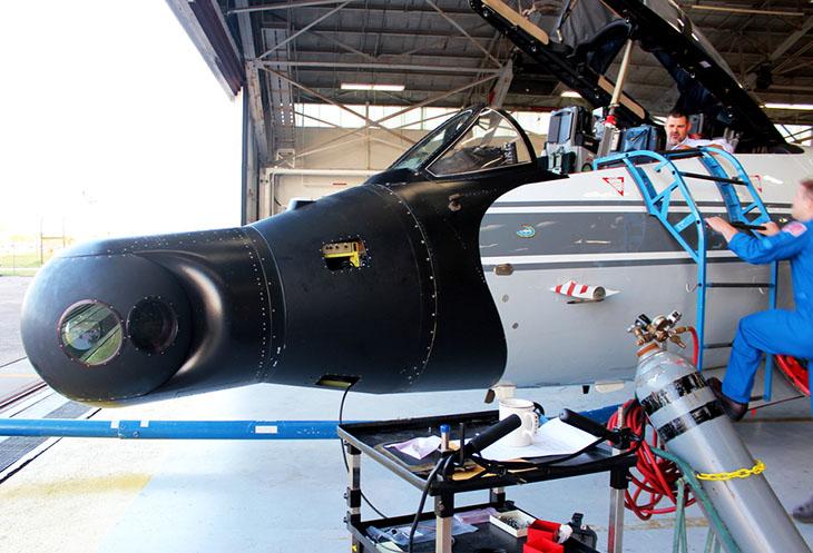 NASA research jet