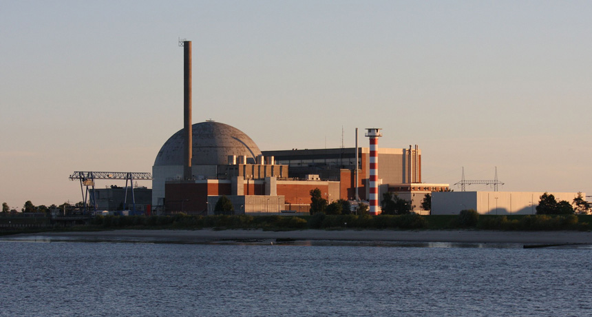nuclear power plant in Stade, Germany