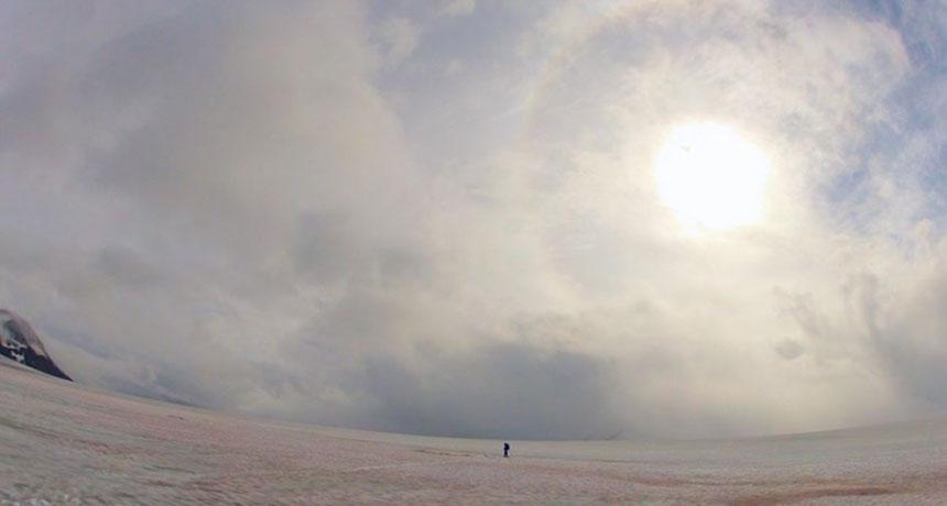 Harding Icefield in Alaska