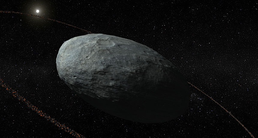 Haumea's ring illustrated