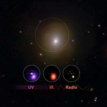 wavelengths of light detected from neutron star merger
