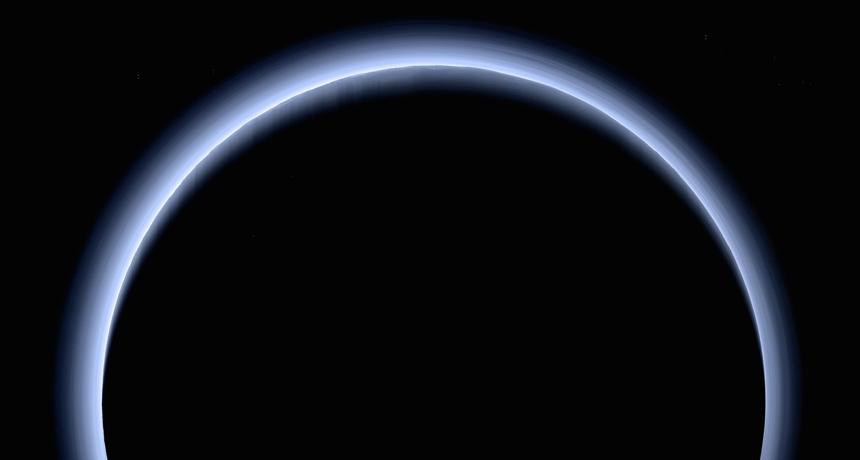 hazy Pluto