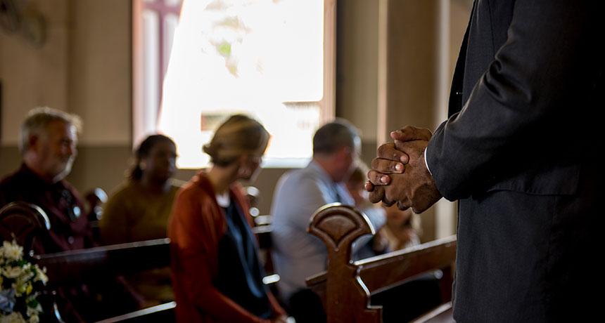 church worshippers