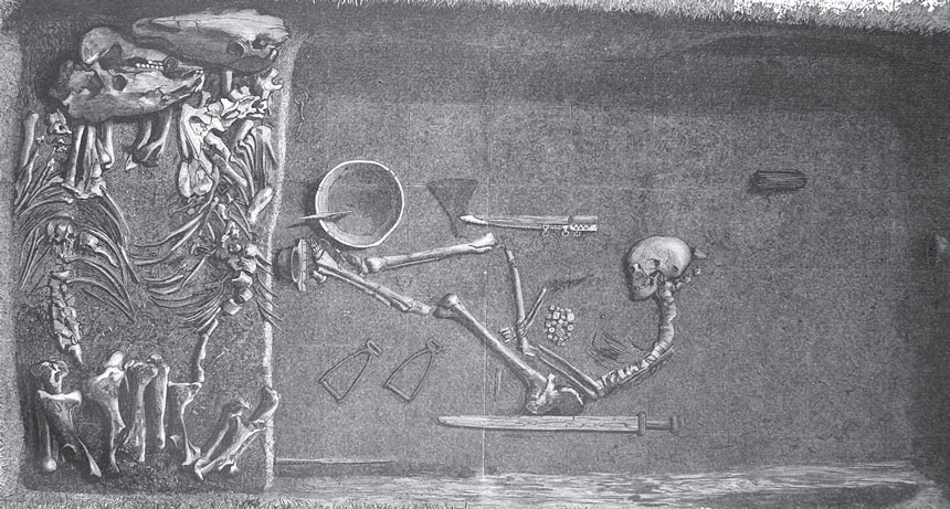 Swedish grave excavation