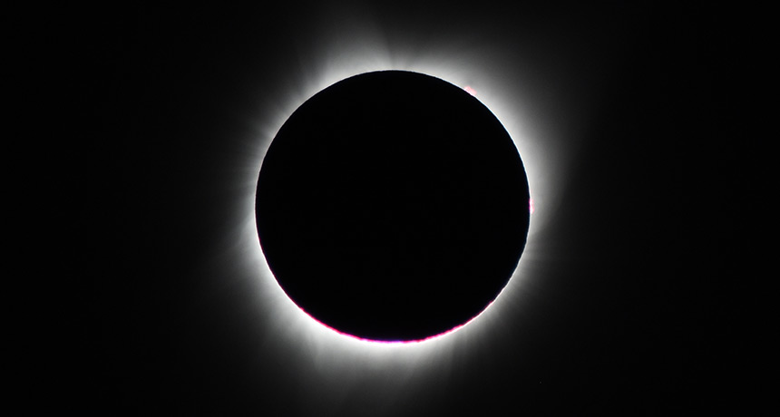 2017 eclipse, as seen in Oregon