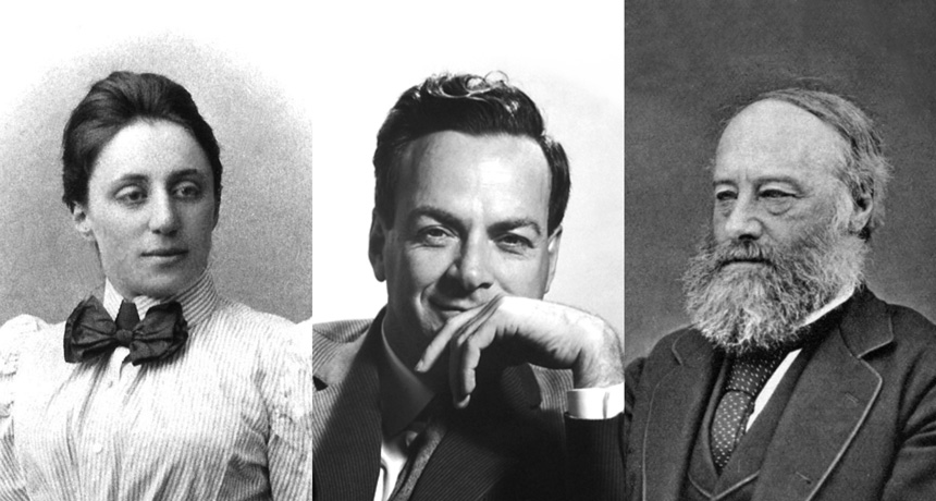 Noether, Feynman, Joule