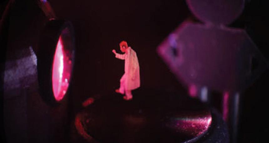 3-D laser image