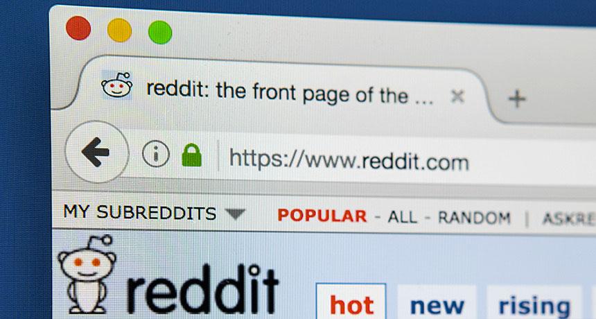 reddit page