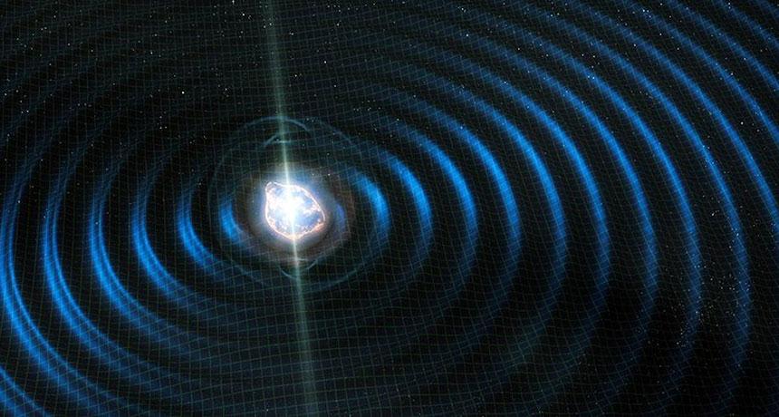 neutron star merger illustration