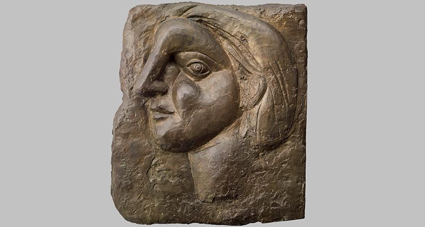 Picasso's Tête de femme de profil (Marie-Thérèse)