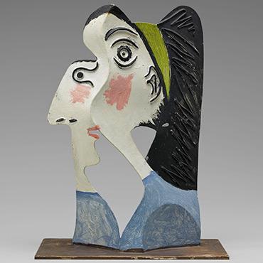 Picasso's Tete de Femme, 1962
