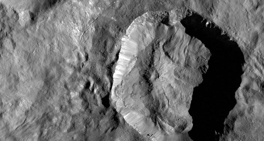 Ceres crater
