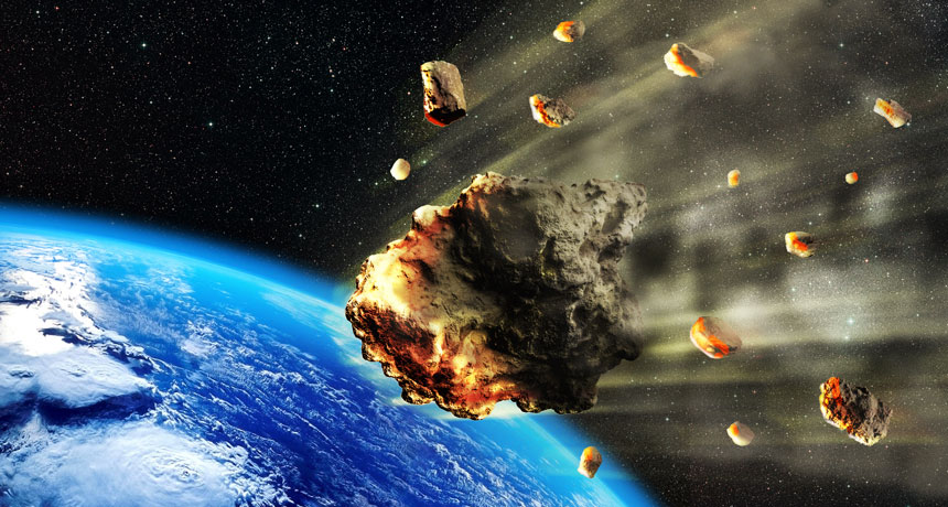 Asteroid hurtling toward Earth