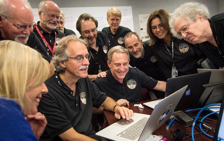 New Horizons team members