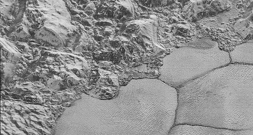 Pluto dunes