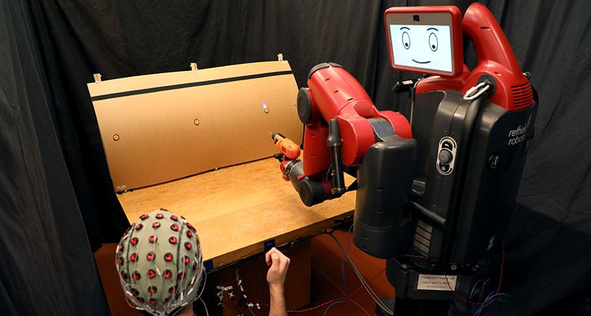 mind-control robot