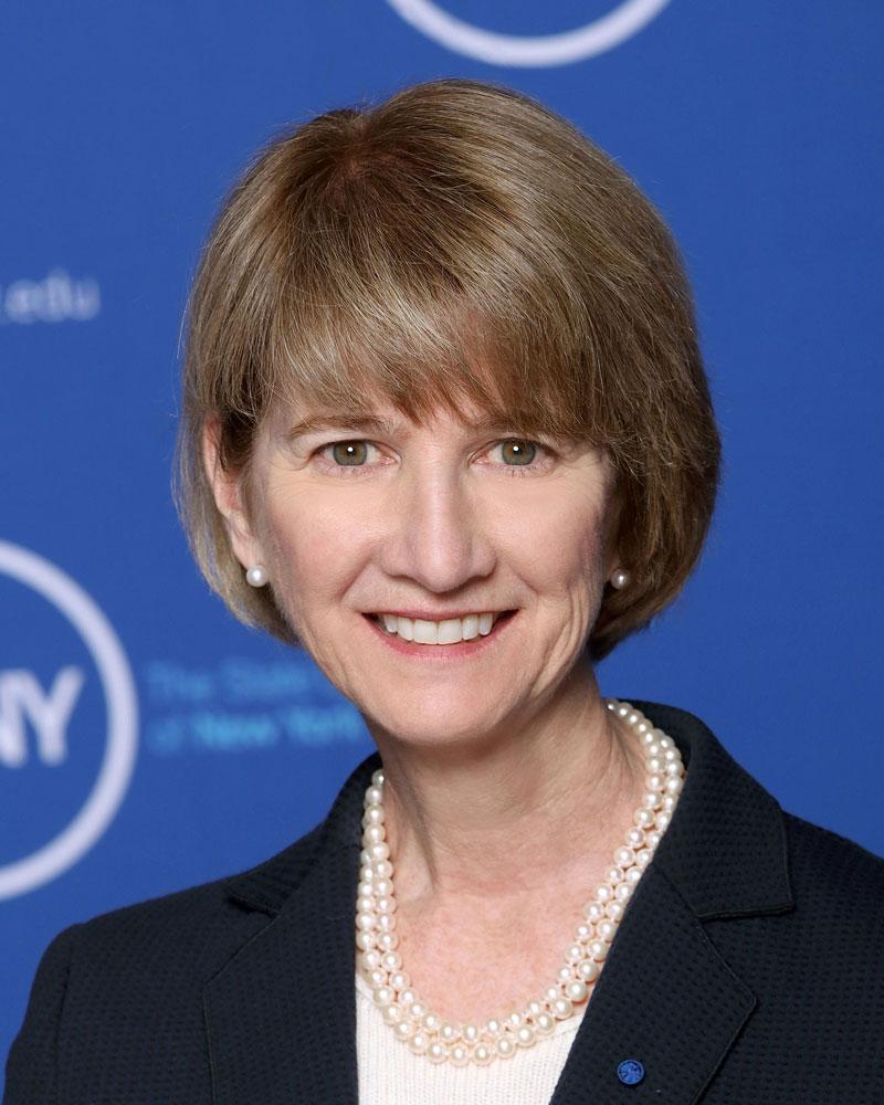 Kristina Johnson Chancellor, The State University of New York. Photo courtesy ofState University of New York.