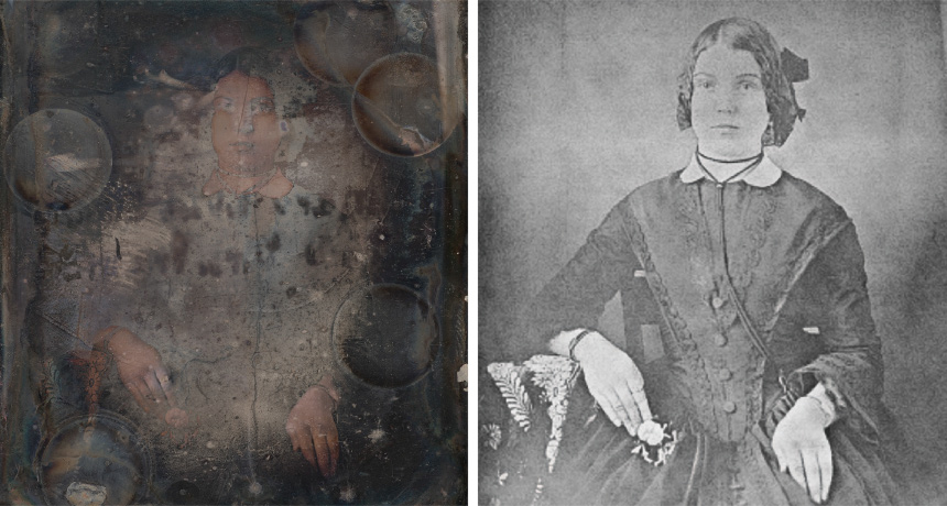 before and after daguerreotypes