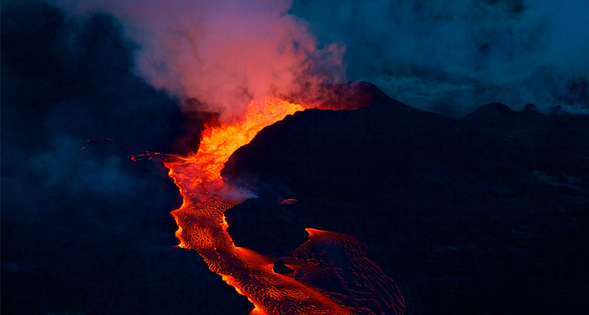 lava from Kilauea