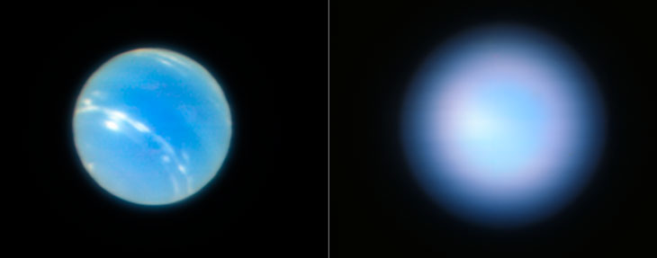 neptune before and after