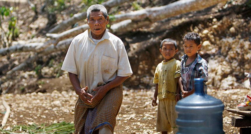 Rampasasa villagers