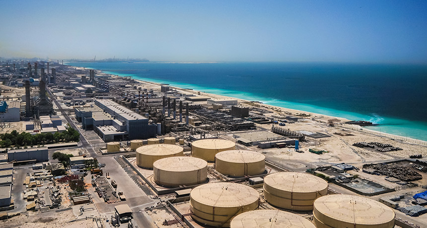 desalination plant in Dubai