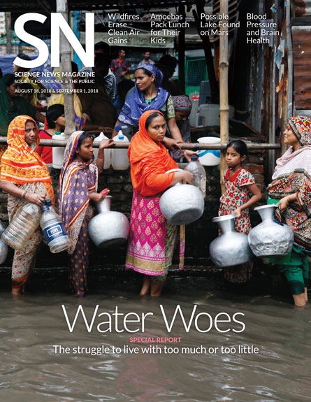 Cover of August 18, 2018 issue