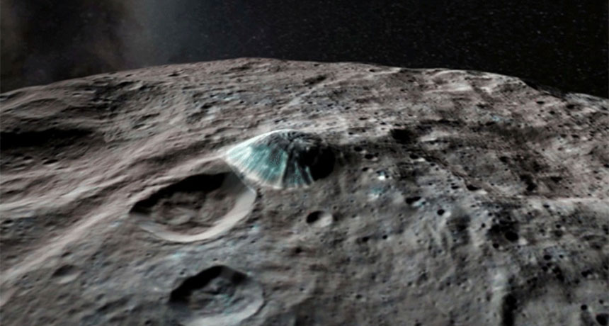 Ceres' Ahuna Mons