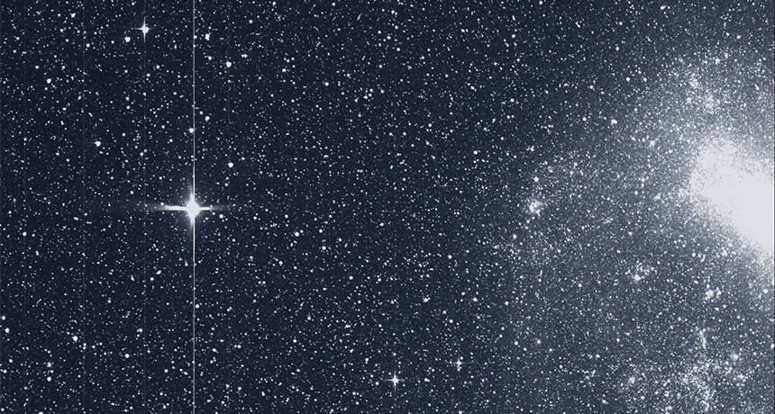 The TESS space telescope has spotted its first exoplanet