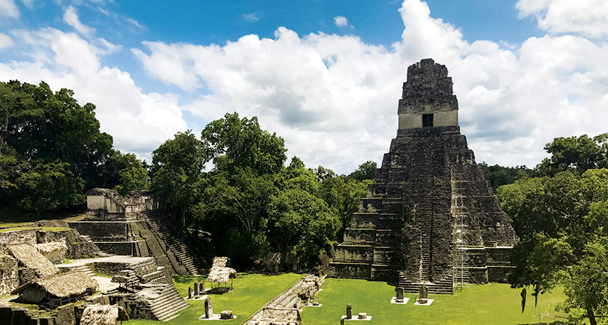Laser mapping shows the surprising complexity of the Maya ...