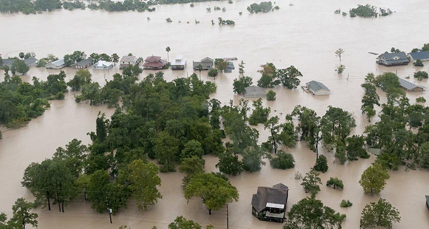 Hurricane Harvey flooding