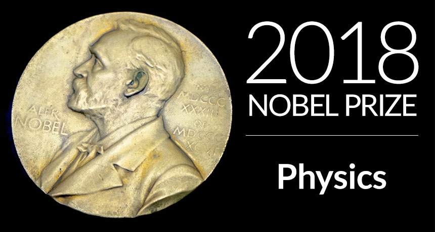 nobel medal physics