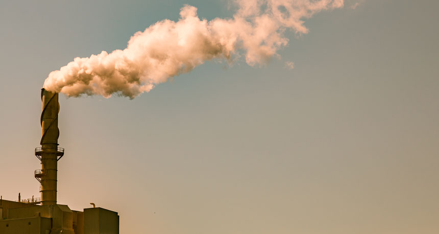 factory carbon pollution