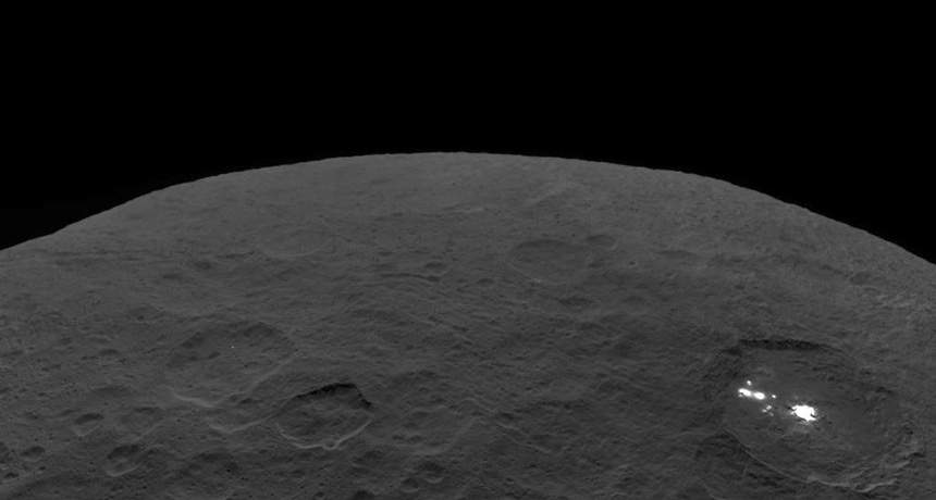 Ceres, as seen by Dawn spacecraft