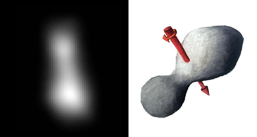 latest image of 2014 MU69 (Ultima Thule)
