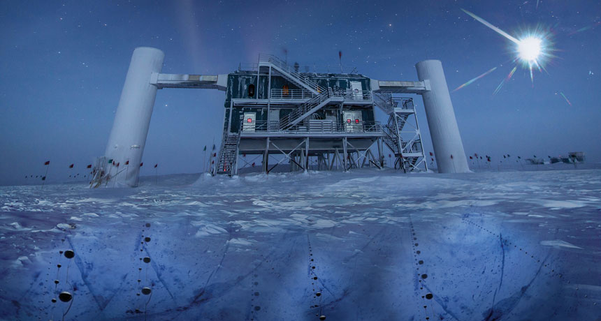 IceCube detector