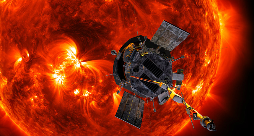 Parker Solar Probe illustration