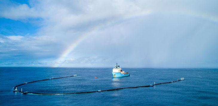 Ocean Cleanup rig