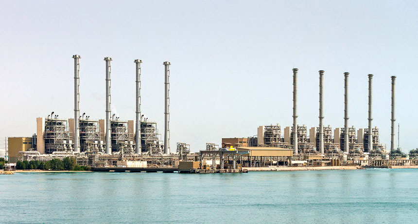 desalination plant in Saudi Arabia