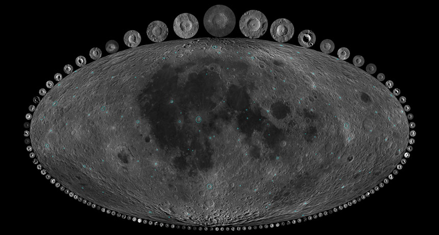 The moon\'s craters suggest Earth hasn\'t erased lots of past ...