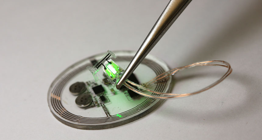 optogenetic bladder implant