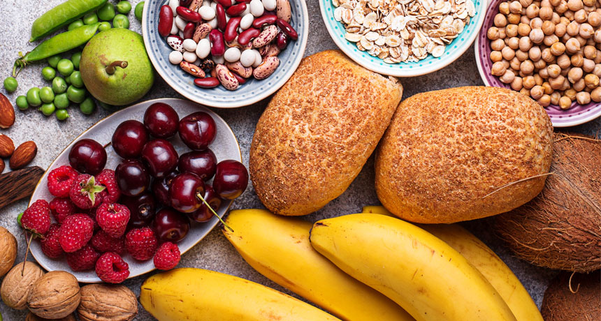 high-fiber food