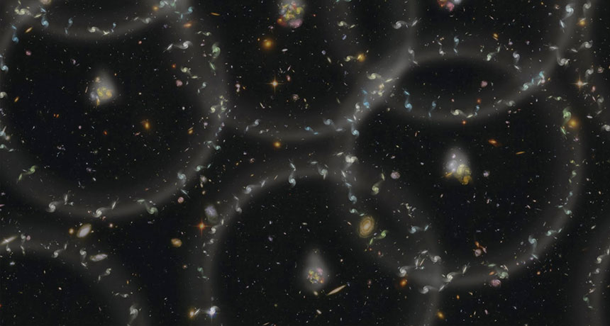 galaxy cluster rings