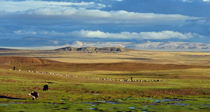 central Tibetan Plateau