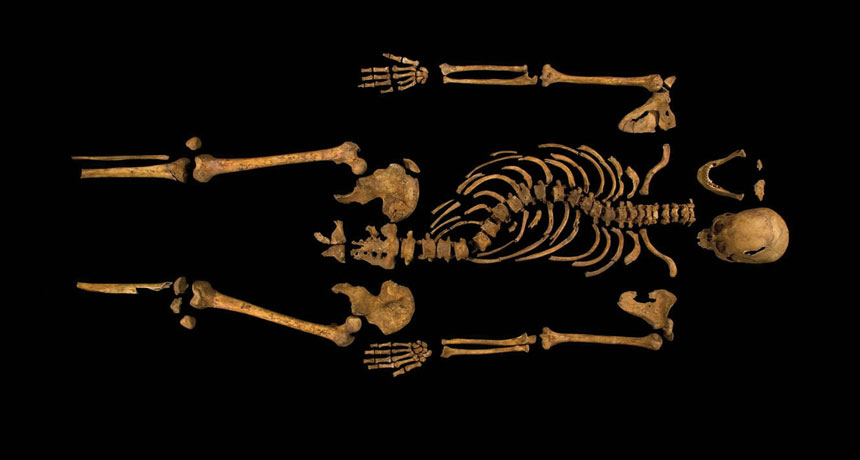 King Richard III's bones
